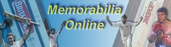 Sports Memorabilia, Sporting Memorabilia, Australian Cricket, Cricket Memorabilia, AFL Memorabilia, Horse Racing Memorabilia, Motor Racing Memorabilia, Sir Donald Bradman Memorabilia